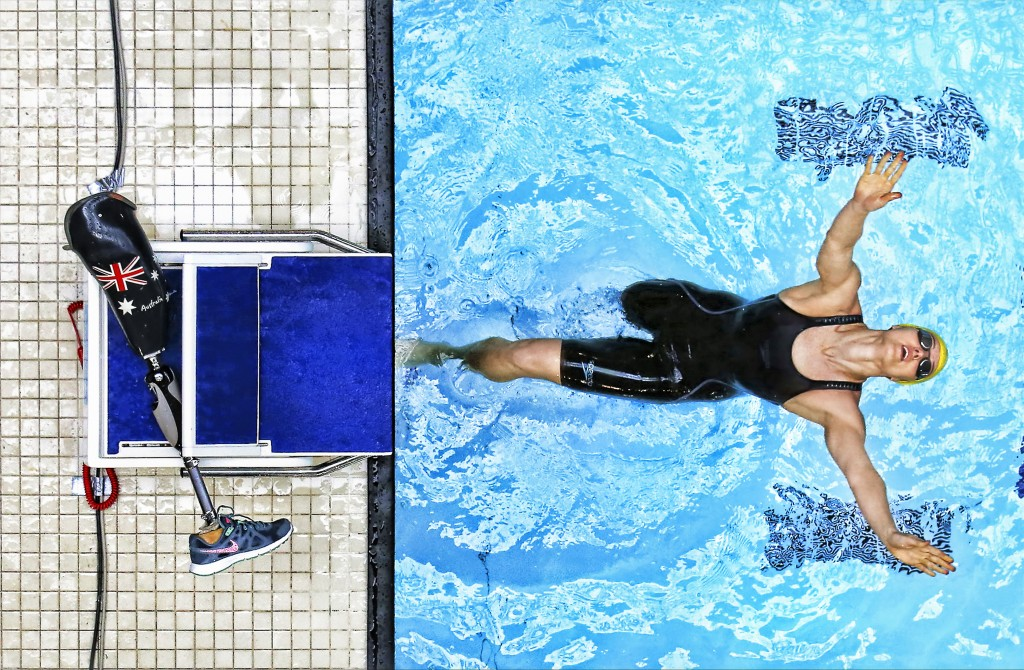 GLASGOW, SCOTLAND JULY Ellie Cole of Australia dives into the pool during Day Seven of The IPC Swimming World Championships at Tollcross Swimming Centre on July 19, 2016 in Glasgow, Scotland. Photo by Ian MacNicol/Getty Images, Local Caption, Ellie Cole