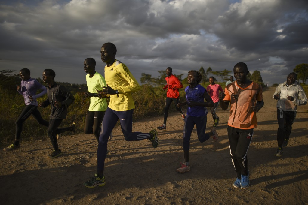 Last training for the ROT in Ngong Hills before leaving to Rio