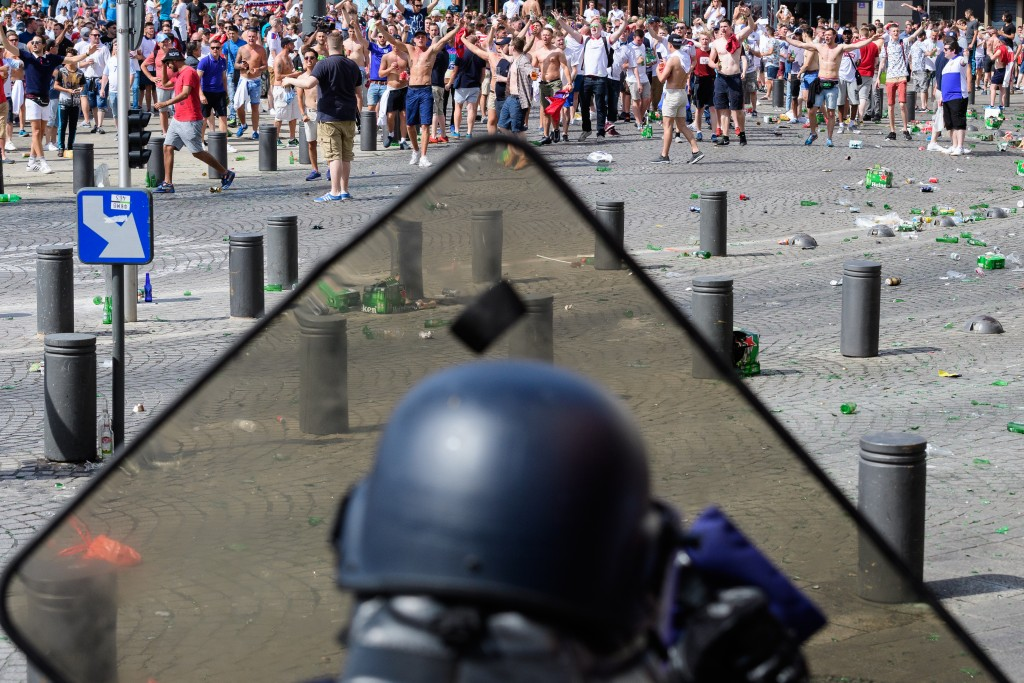 Euro 2016, football, tournament, France, Russia, England fans, Russian fans, local gangs, French riot squads