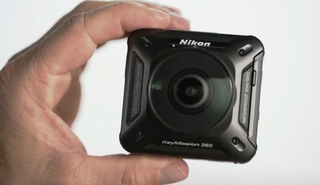 KeyMission 360 action camera