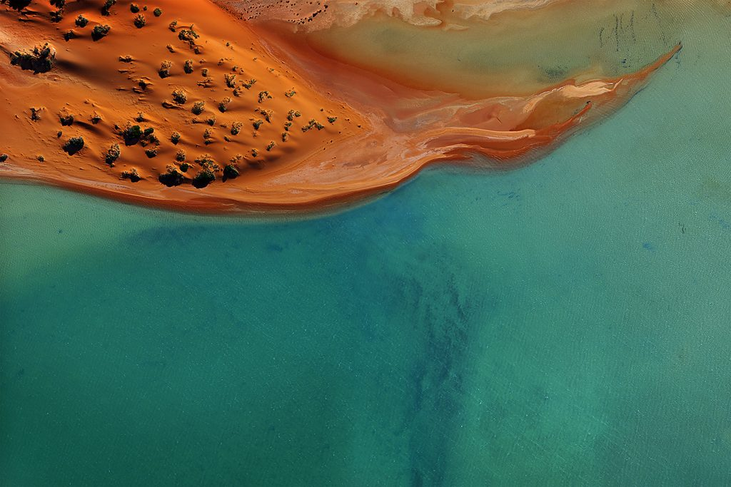 A red sand dune in Australia's Shark Bay Tommy Clarke