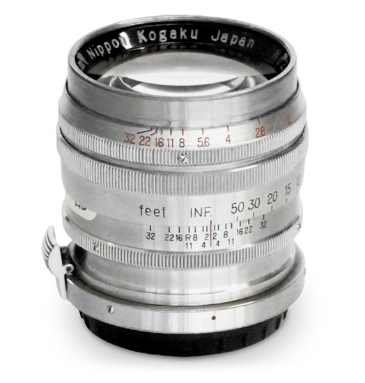 NIKKOR P.C 8.5cm f/2 lens used for the portrait shooting.
