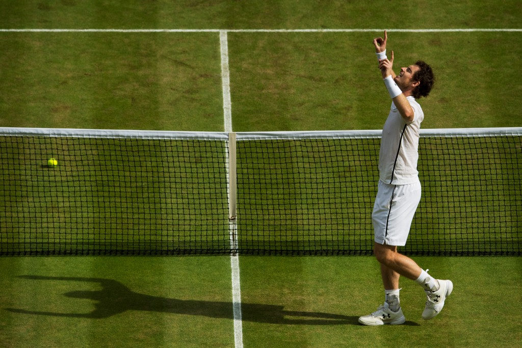 Andy Murray, winning, superman, final, Gentlemen's Singles, Centre Court, the Championships