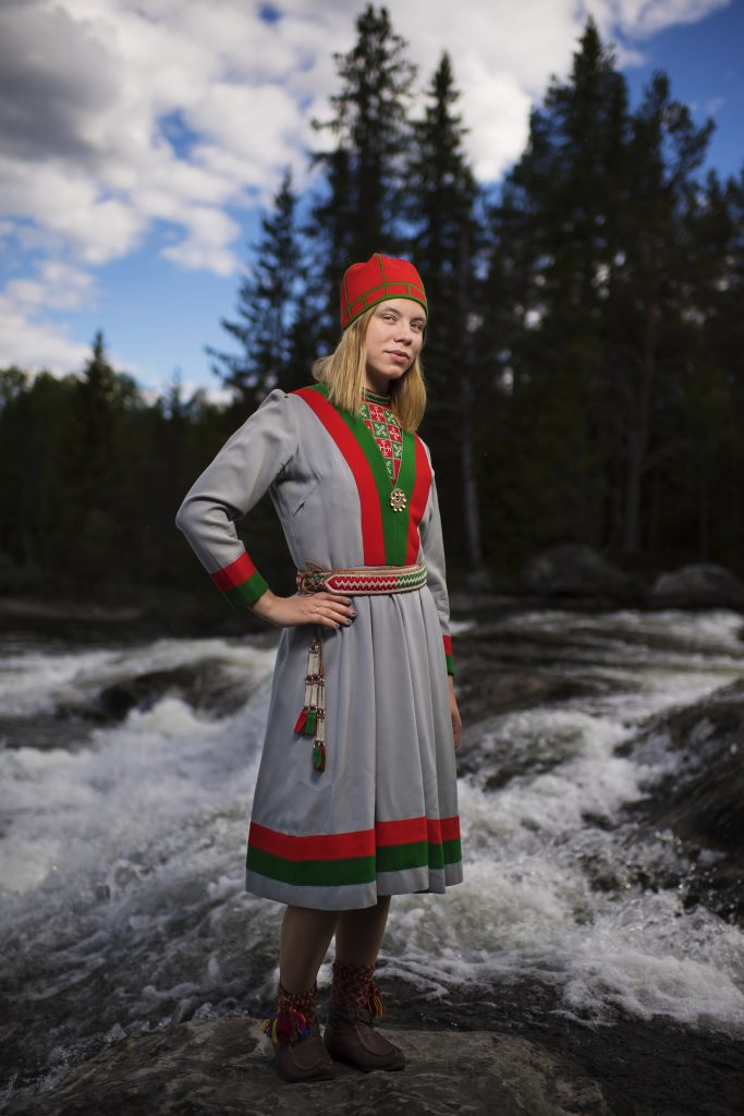 Sami dancer, Sami people, untold stories, culture, photography, Sweden, Sami, Midnight Sun