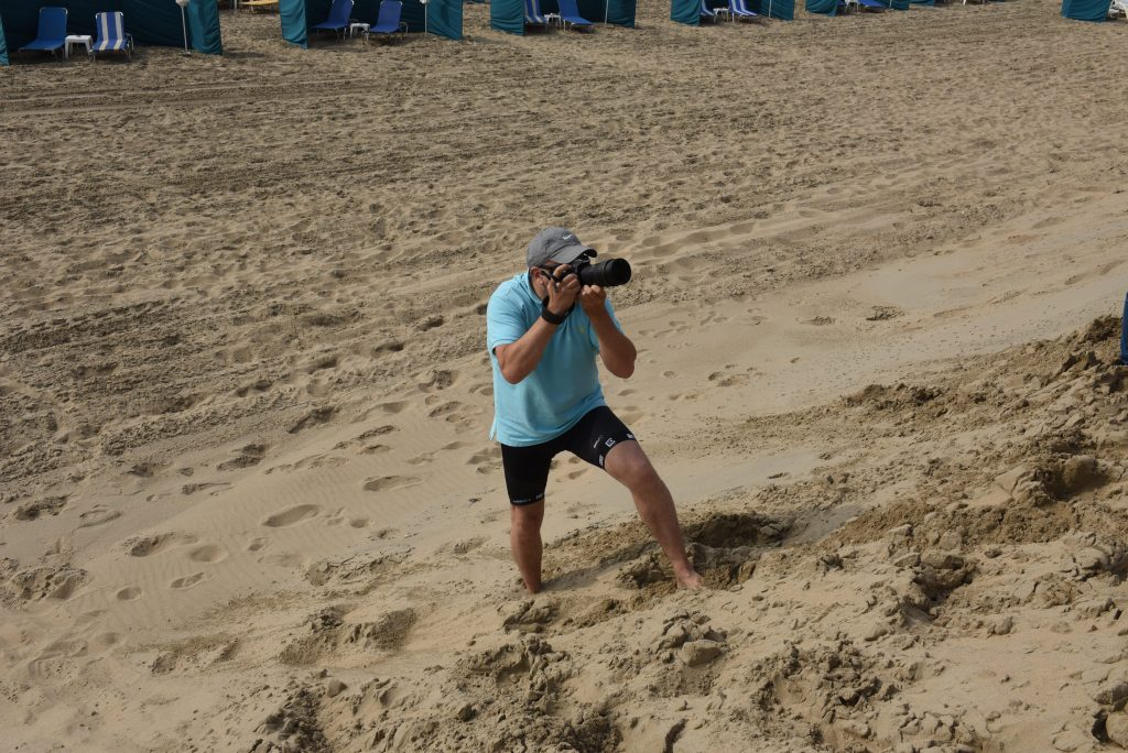 Nikon Netherlands Events & Training Manager, Daan Vazquez Beach Cleanup Noordwijk Beach, 15 June 2018