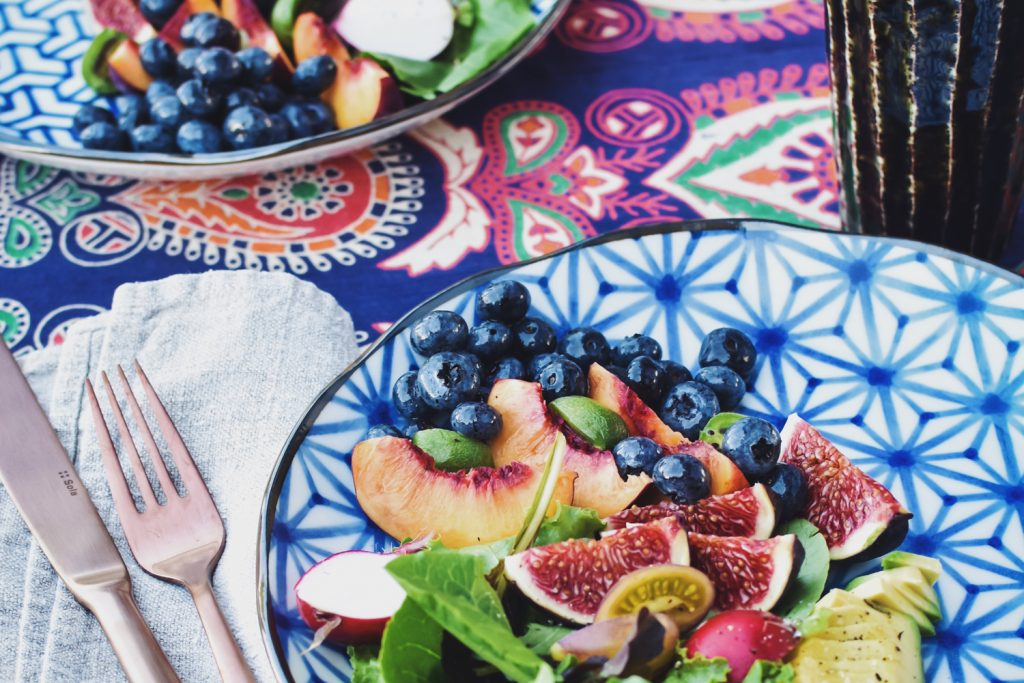 Summer salad with berries and avocado food photography tastyasheck instagood how to take food photos for instagram