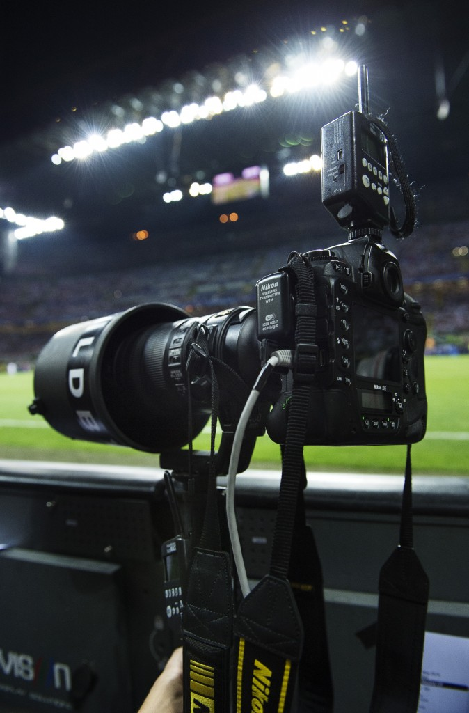 Nikon D5 Champions League final between Real Madrid and Atletico Madrid