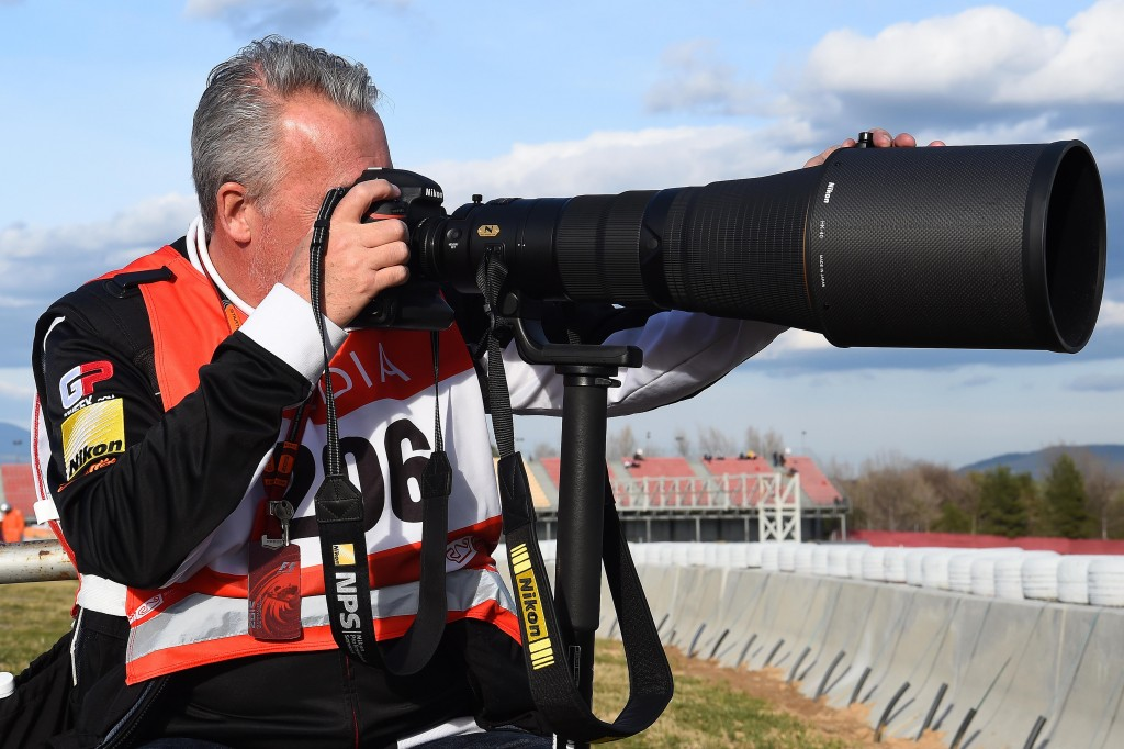 Mark Sutton (GBR) Sutton Images F1 Photographer at Formula One Testing, Day Two, Barcelona, Spain, Wednesday 2 March 2016.
